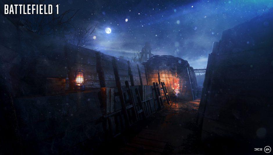 Nivelle Nights será el nuevo mapa de Battlefield 1 para los usuarios Premium