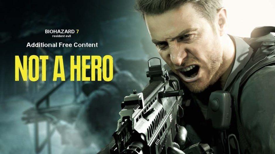 Se retrasa el DLC gratuito de Resident Evil 7: Not a Hero