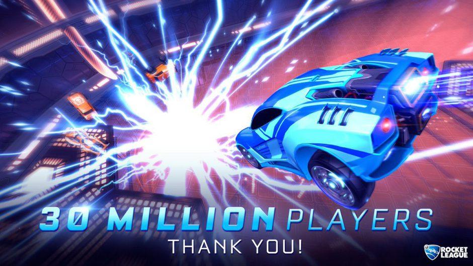 Rocket League supera los 30 millones de jugadores