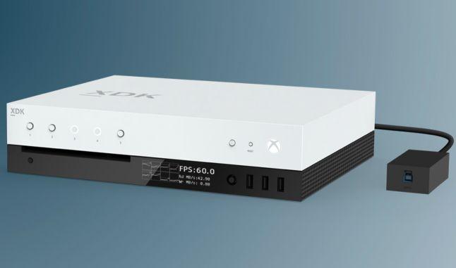 Así son los DevKits de Project Scorpio y si, son calcados a Xbox One S
