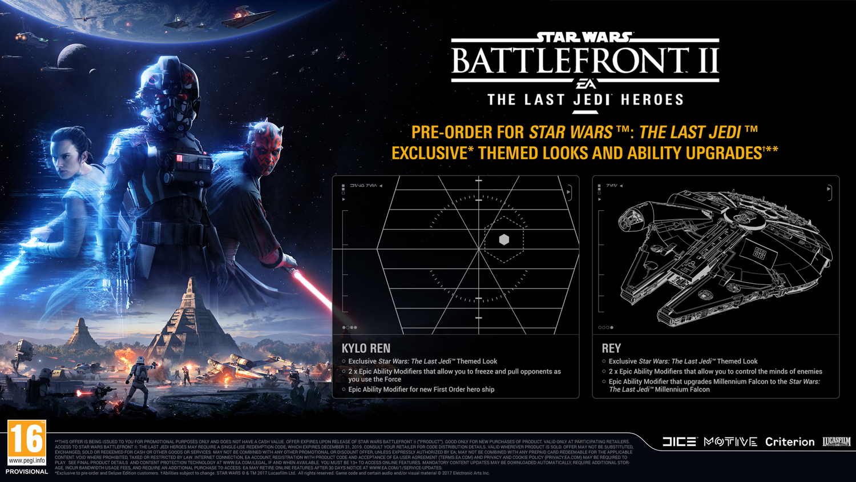 Star Wars Battlefront II - DLC Reserva