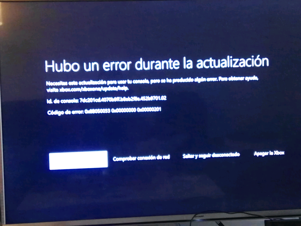 Xbox Actualización