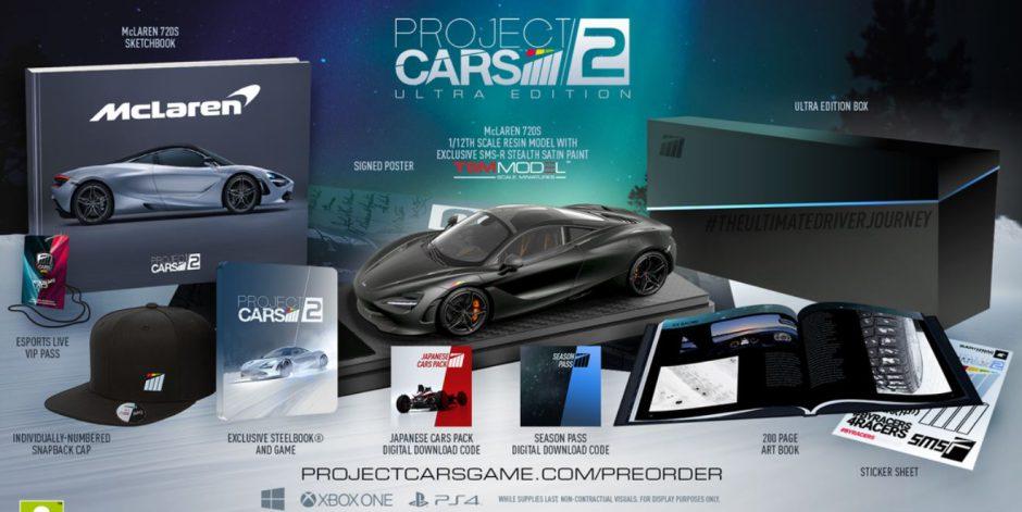 Así son las increíbles ediciones físicas de Project Cars 2