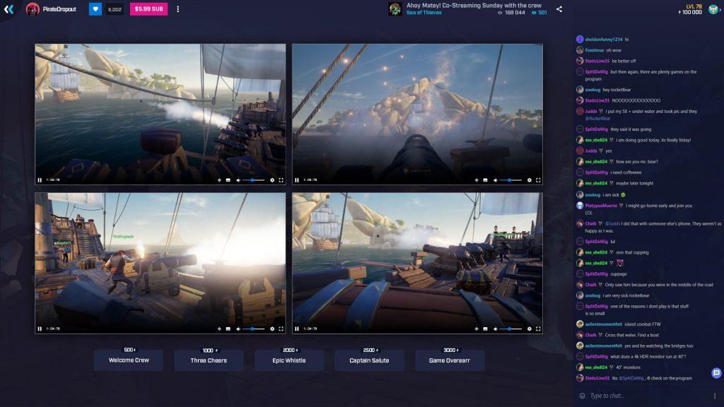 BEAM se convierte en MIXER y permitirá el co-streaming de hasta 4 jugadores al mismo tiempo