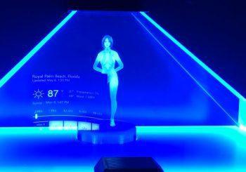 Así sería Cortana en la vida real, un usuario crea un concepto con hologramas e impresión 3D