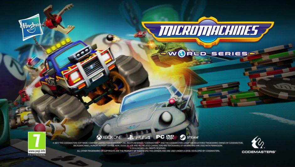 Nuevo tráiler de Micro Machines World Series, que llegará el 23 de junio