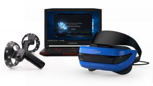 Microsoft revela los controladores de su Realidad Mixta y Virtual 1
