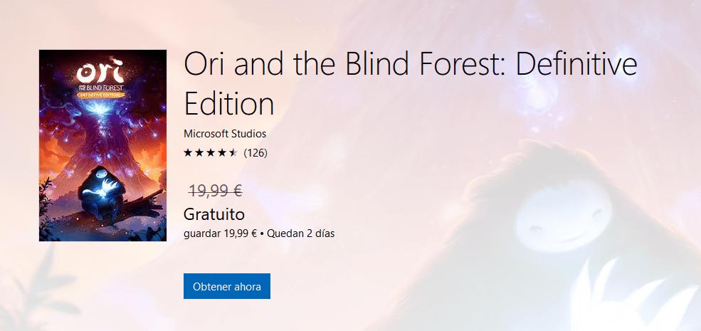 Ori and the Blind Forest: Definitive Edition, gratis si tienes el original 1