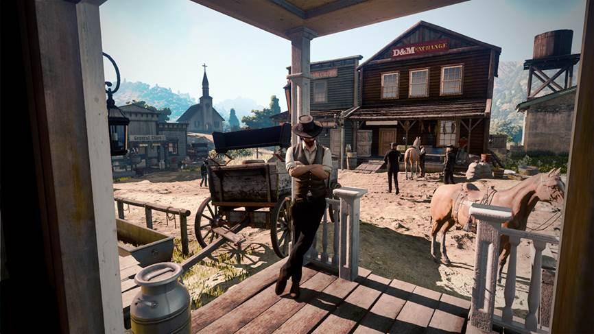 Filtrada una supuesta captura de Red Dead Redemption 2 1