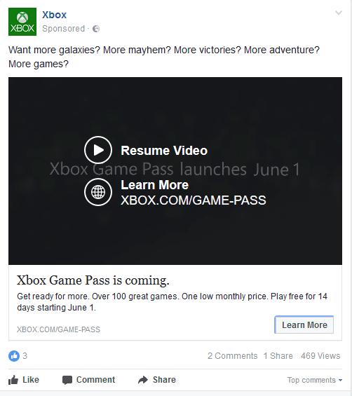 Xbox Game Pass llegará el 1 de junio