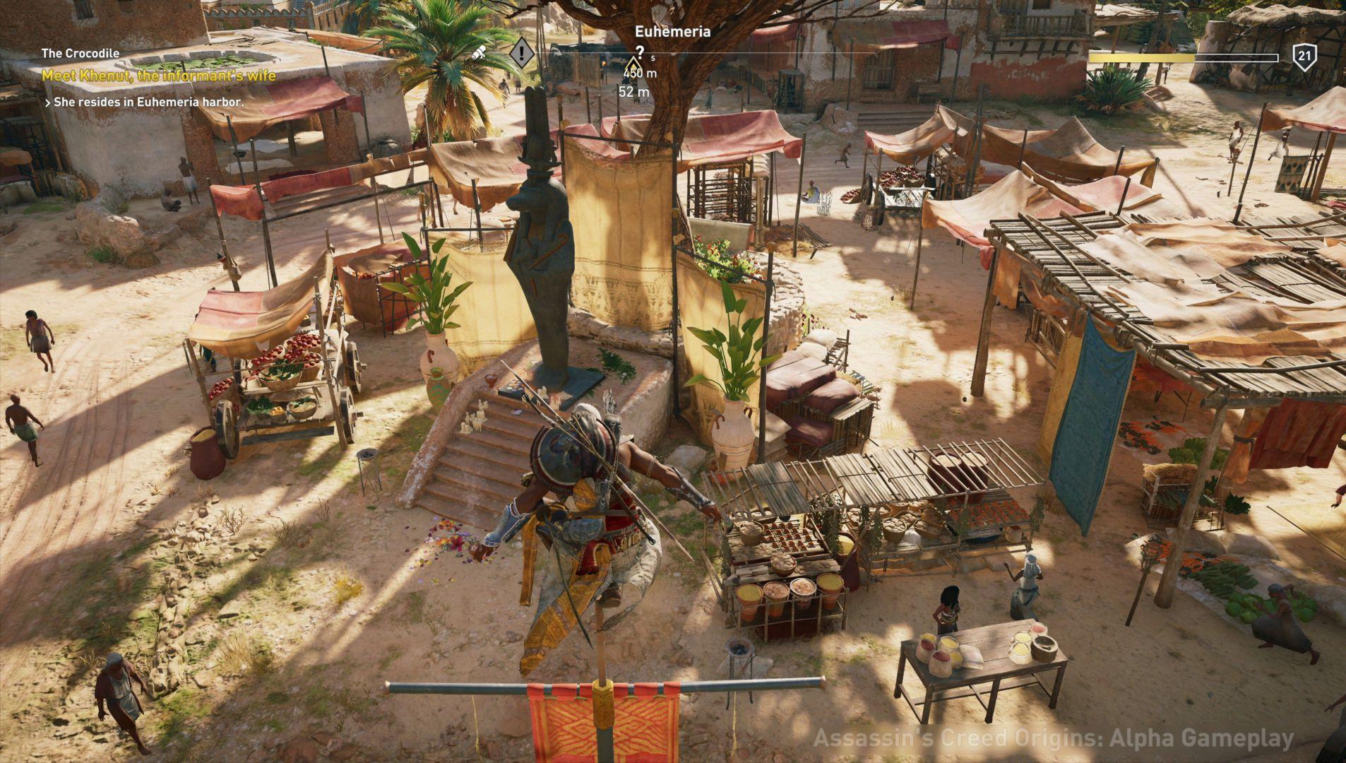 Assasins Creed Origins Pet A Cat