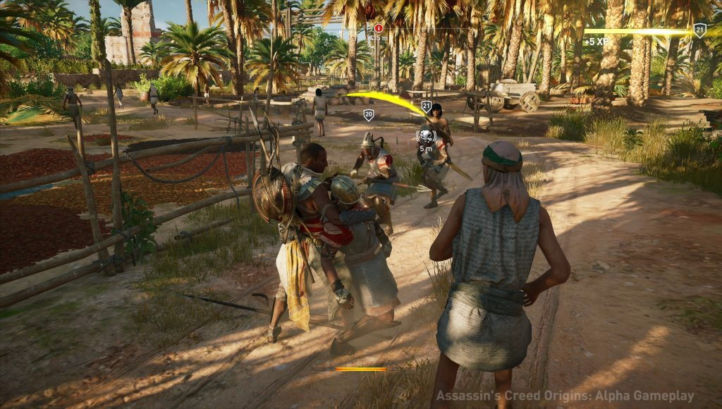 Nuevas capturas in-game de Assassin's Creed Origins corriendo en Xbox One X