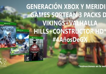 Sorteamos 3 packs de Meridiem Games: Vikings, Valhalla Hills y Constructor HD