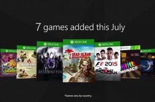 Siete nuevos juegos se incorporarán a Xbox Game Pass el 1 de julio