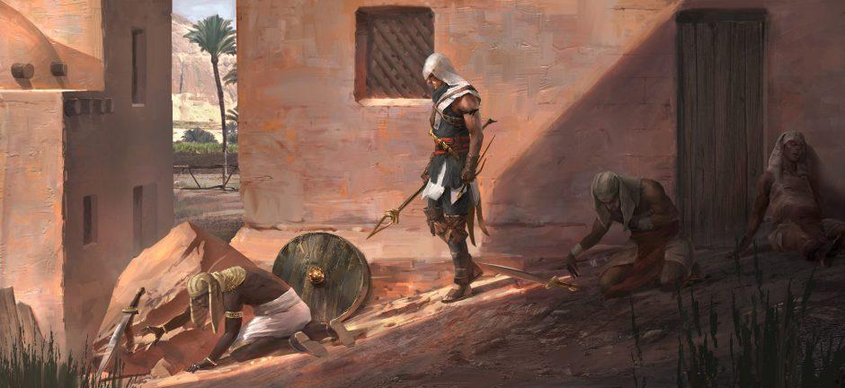 Assassin's Creed: Origins no funciona a 4K nativos en Xbox One X, por ahora es dinámico