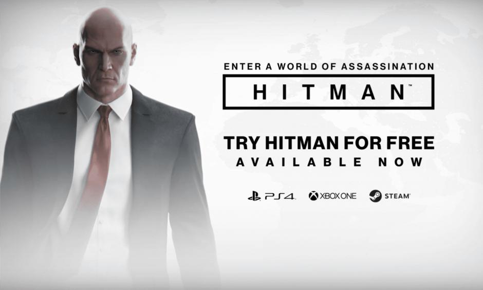 Ya disponible la prueba gratis de Hitman con 17 logros disponibles
