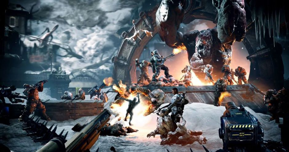 Odisea inconcebible en la Horda de Gears of War 4