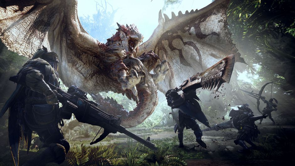 Filtrado gameplay de Monster Hunter World