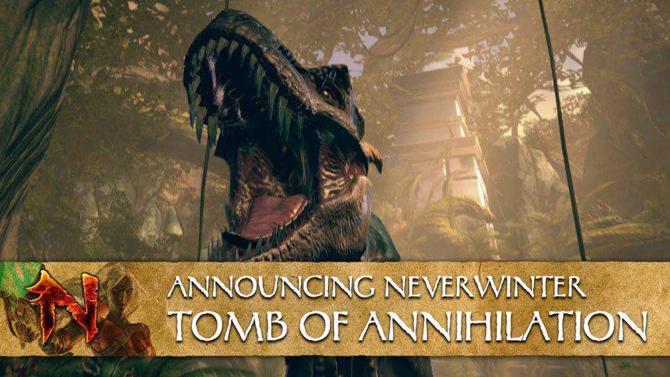 Tomb of Annhilation es la nueva expansión de Neverwinter que llegará en julio a Xbox One