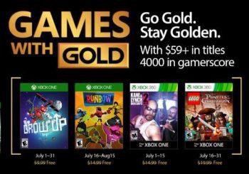 [Confirmado] Estos son los Games With Gold de julio