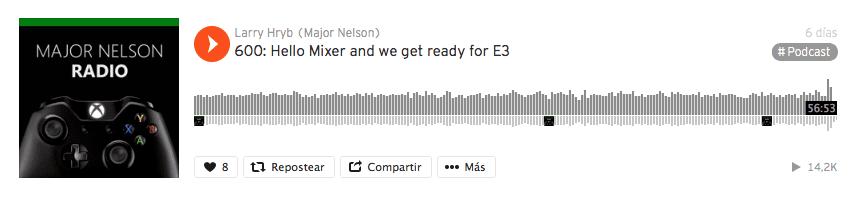 Ya podemos descargar la aplicación SoundCloud para Xbox One