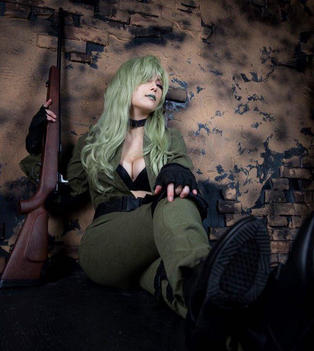 cosplay sniper wolf