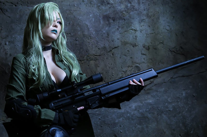 Yunker Yagiyama nos trae un genial cosplay de Sniper Wolf, de Metal Gear Solid