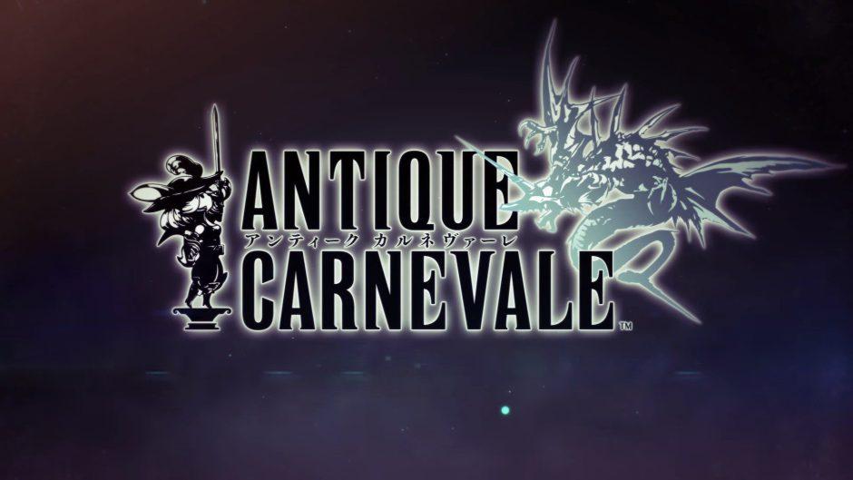 Square Enix está trabajando en un juego llamado Antique Carnevale