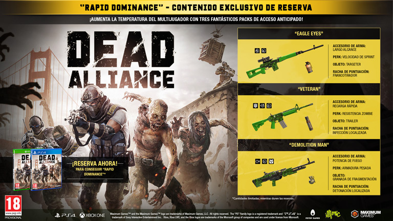 Dead Alliance Reserva