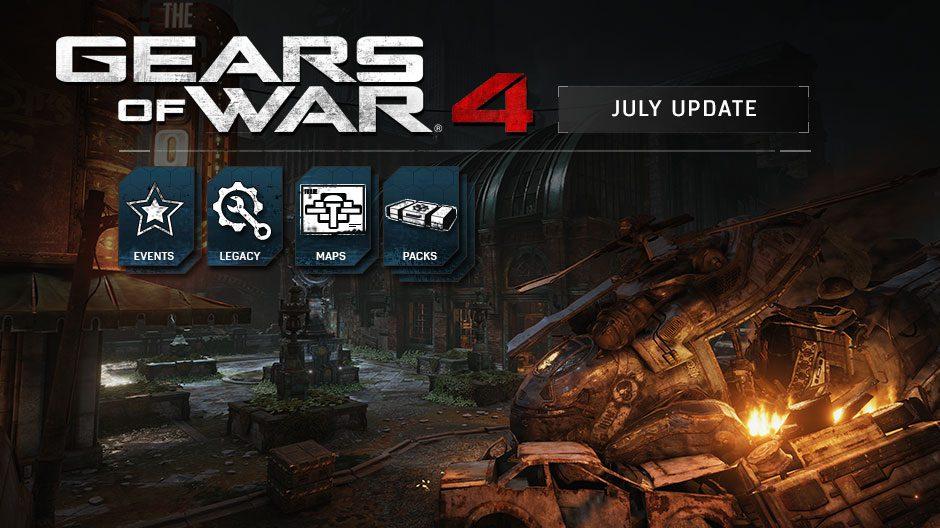 Esto es lo que trae la actualización de julio de Gears of War 4 que ya está disponible