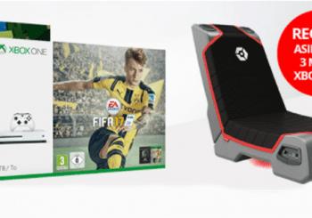 Ofertazas de Xbox One S, juego, Silla Gaming RC3 y 3 meses de Live en El Corte Inglés