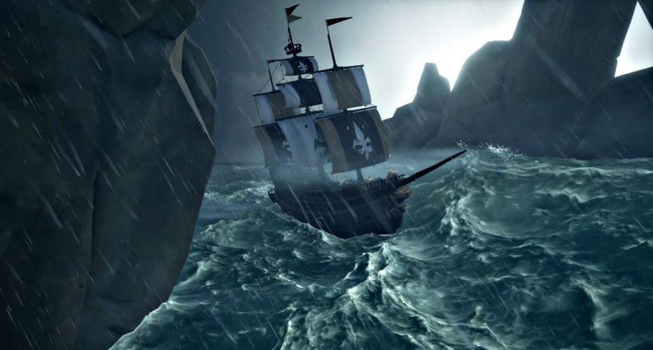 Así de impresionantes son las tormentas en Sea of Thieves