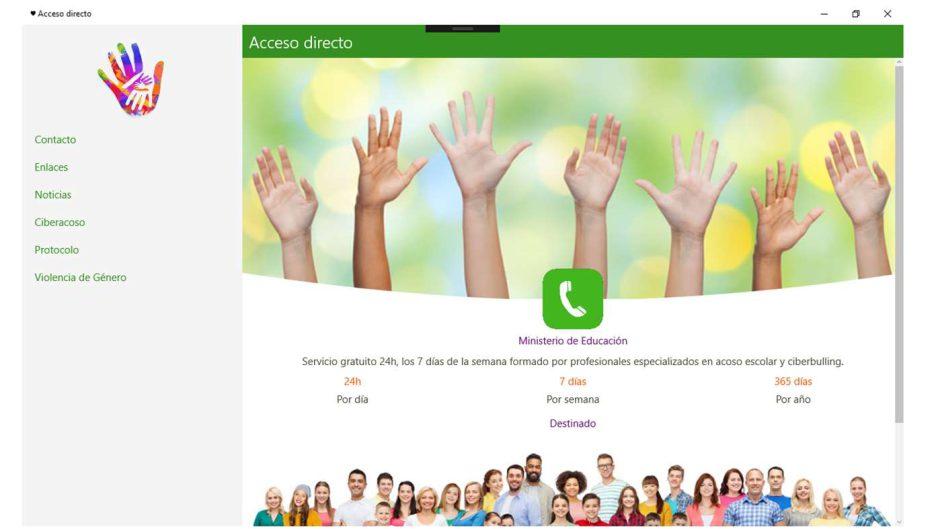Acceso Directo, una app para luchar contra el ciberacoso, bulling y la violencia de género