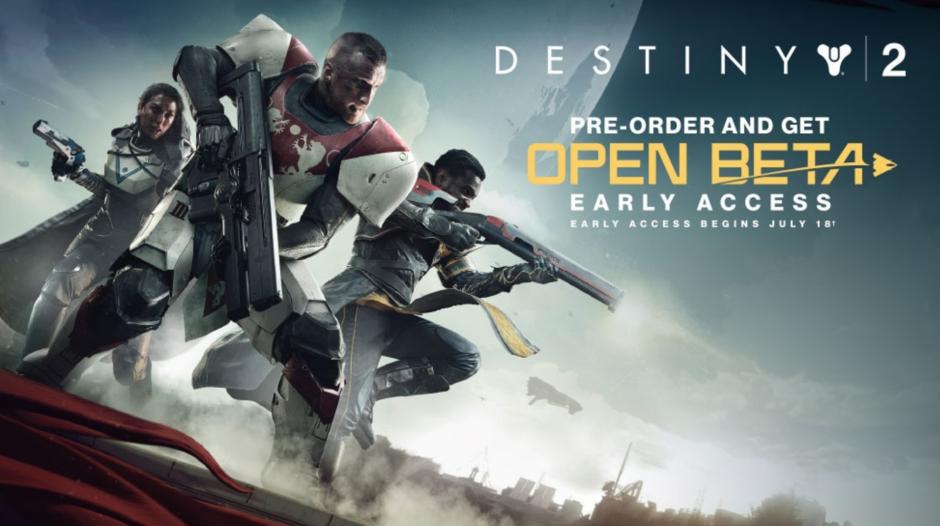 Destiny 2: Tráiler y fecha de lanzamiento de la beta abierta
