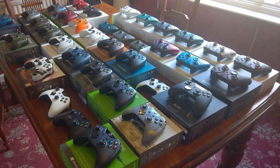 Echa un vistazo a esta colección de mandos para Xbox One