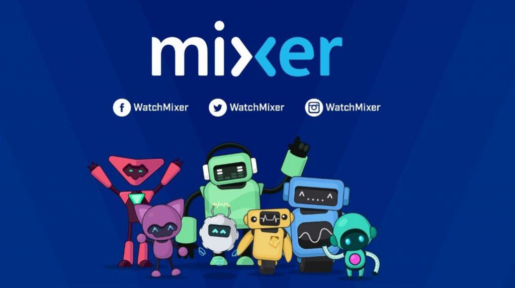 Mixer consolas