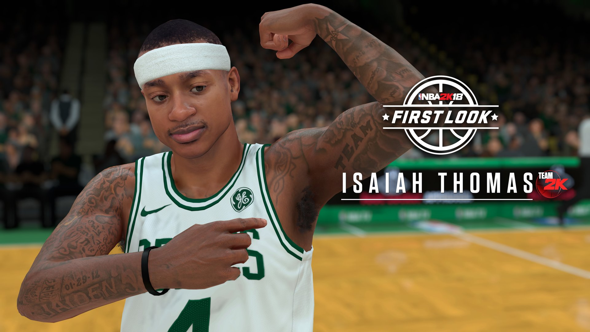 NBA 2K18 ISAIAH THOMAS