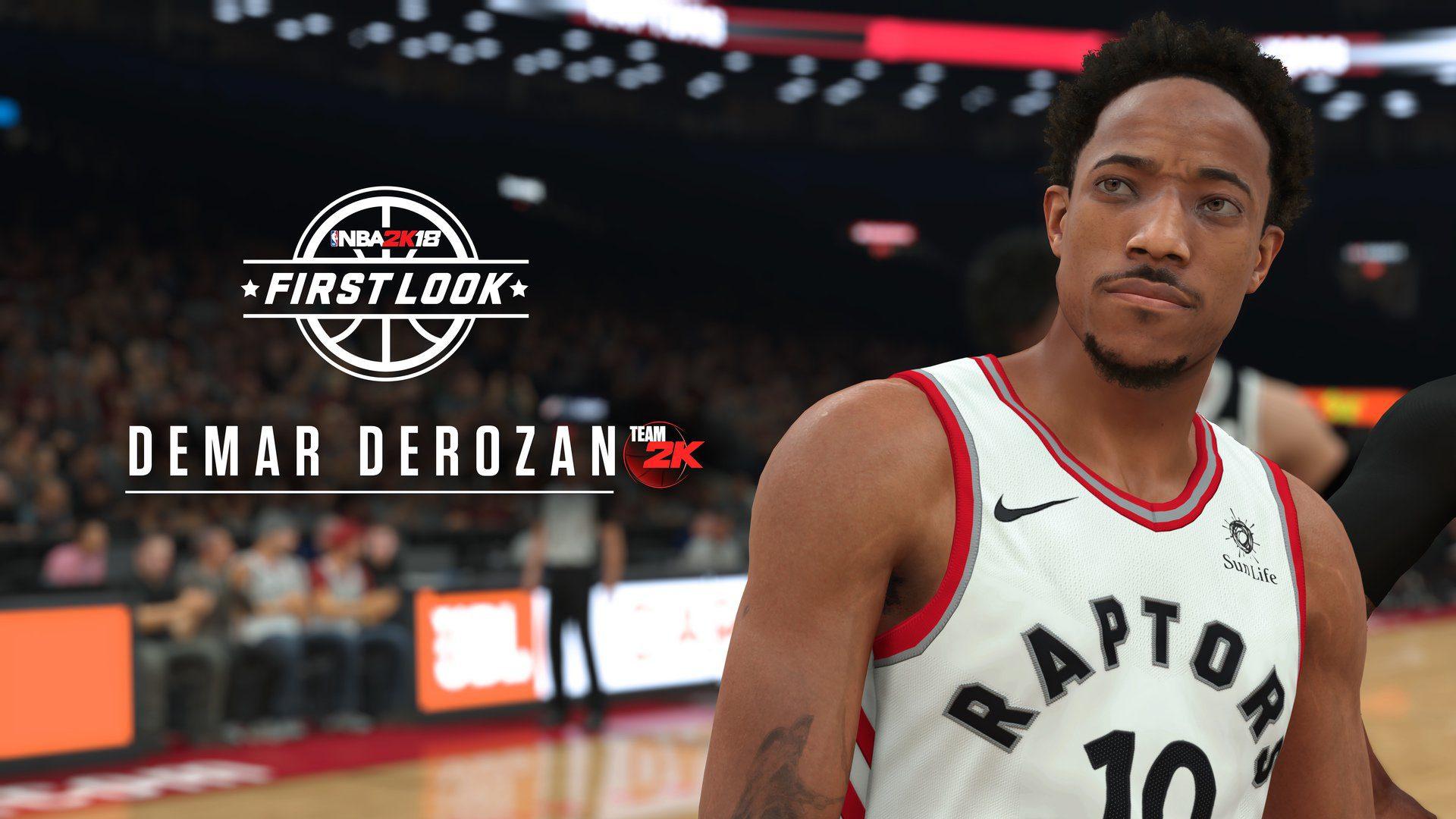 NBA 2K18 DEMAR DEROZAN