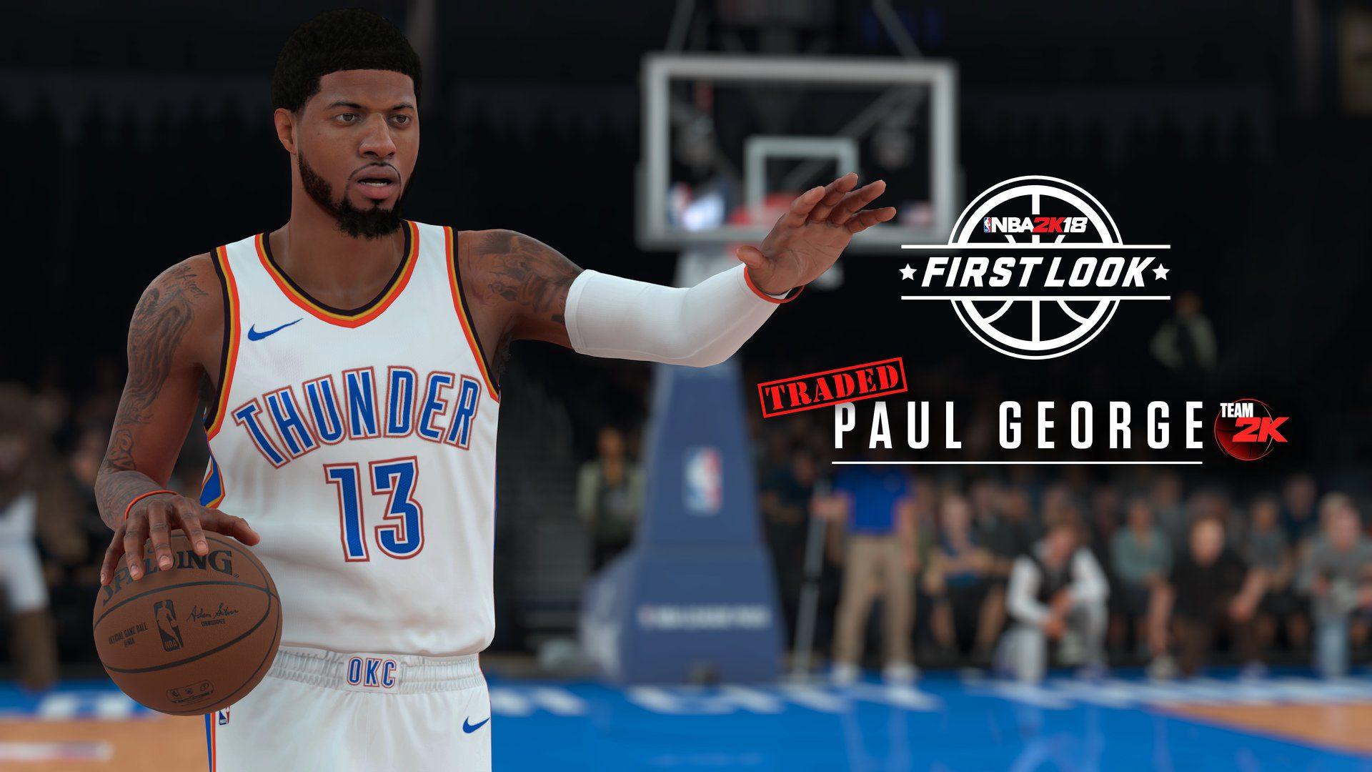 NBA 2K18 Paul George