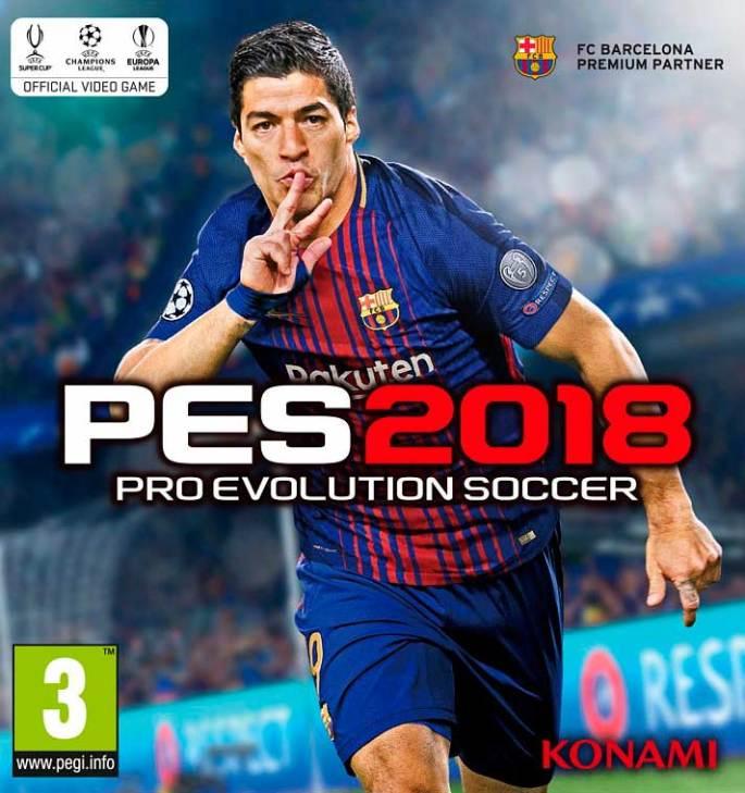 Luis Suárez será la imagen de portada de PES 2018