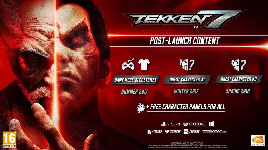 El primer DLC de Tekken 7 nos traerá de vuelta el minijuego de bolos