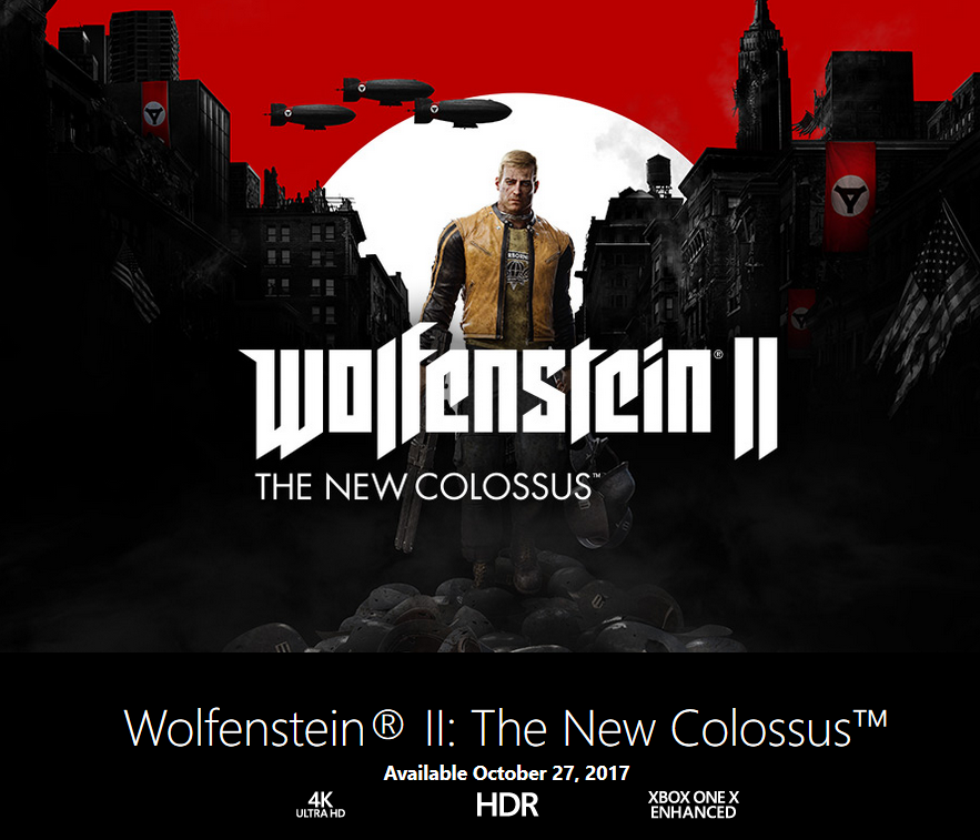Wolfenstein II Xbox One X