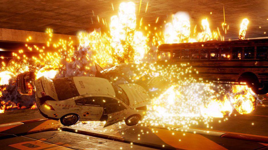 Las colisiones de Dangerous Driving impactan en su trailer de lanzamiento