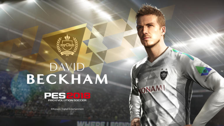Pro Evolution Soccer 2018 ficha a David Beckham
