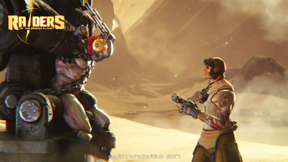 Las diferencias entre Xbox One X y Ps4 Pro en Raiders of the Broken Planet serán difíciles de notar