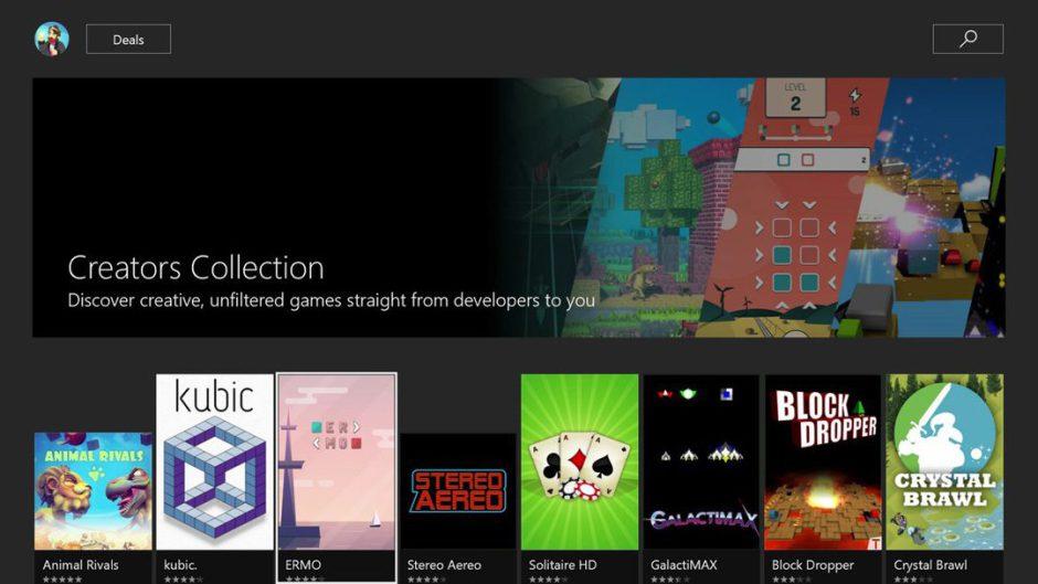 Xbox Live Creators Program ya funciona y cuenta con sus primeros juegos publicados