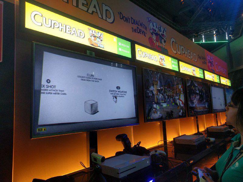Cuphead Gamescom
