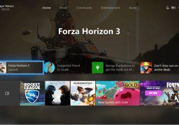 Te mostramos la nueva interfaz de Xbox One en movimiento
