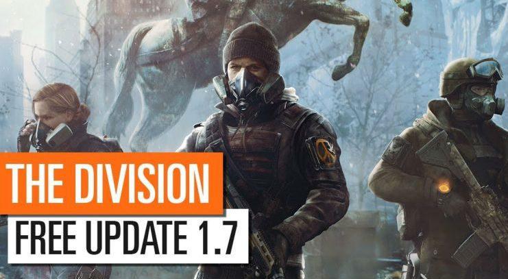 The Division recibe hoy la actualización 1.7 con grandes novedades