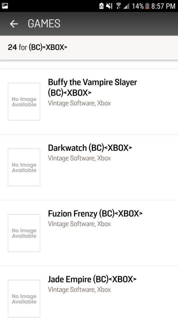 Gamestop podría haber filtrado juegos retrocompatibles de la Xbox Original